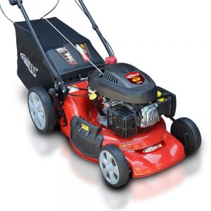 frisky fow lawn mower review