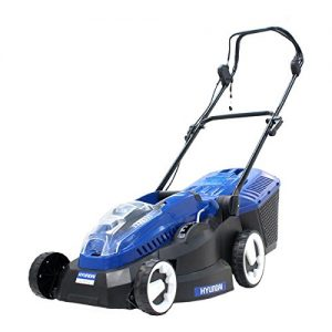 Hyundai Cordless Rechargeable Lithium Ion Battery Powered 36 V Lawn Mower HYM36Li