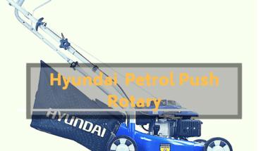 Hyundai 99cc 4-stroke Petrol Push Rotary mower