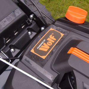 BMC petrol lawnmower - wolf engine