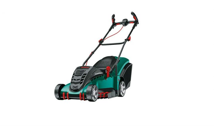 bosch rotak 43 li ergoflex cordless battery powered lawnmower. Black Bedroom Furniture Sets. Home Design Ideas