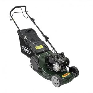 Webb 17in Petrol Lawn mower with Rear Roller