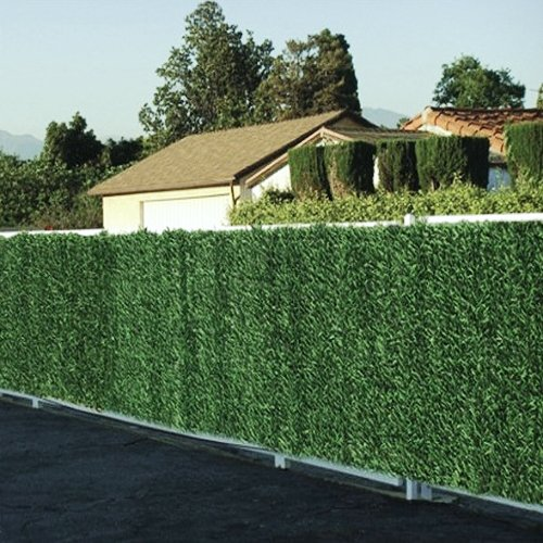 Evergreen Artificial Conifer Hedge screening
