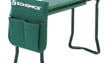 Songmics Kneeler Seat Foldable Steel Tube