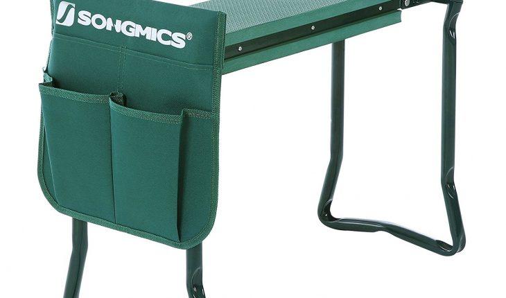 Songmics Kneeler Seat Foldable Steel Tube