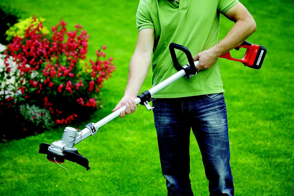 best cordless strimmer reviews uk