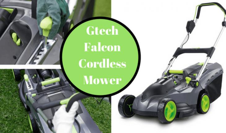 Gtech Falcon Cordless Lawnmower Review UK