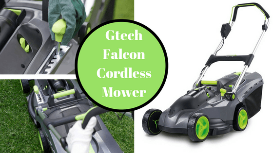 Gtech Falcon Cordless Lawnmower Review UK