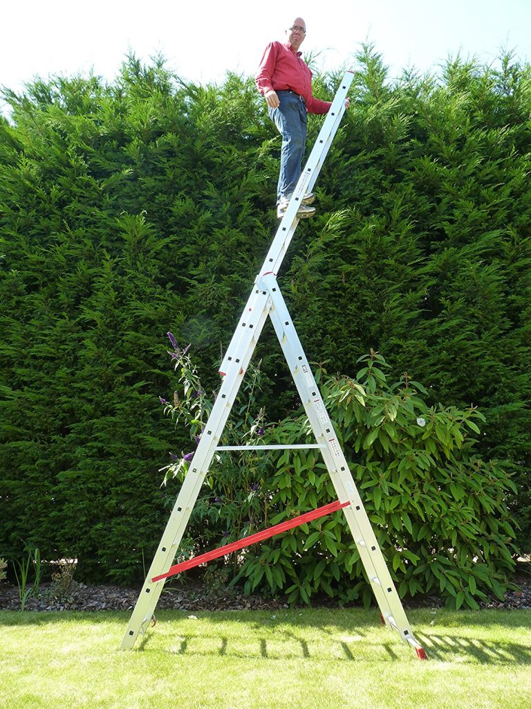 10 Rung Combi All-In-One Extension Ladder
