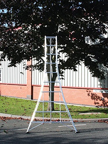 Garden Hedge Cutting Tripod Ladder