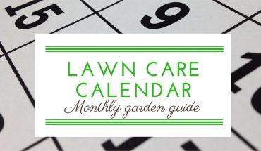 Lawn Care Calendar