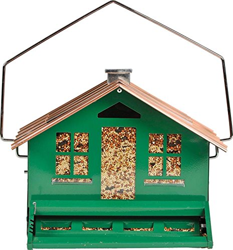 Opus Squirrel Be Gone Bird Feeder