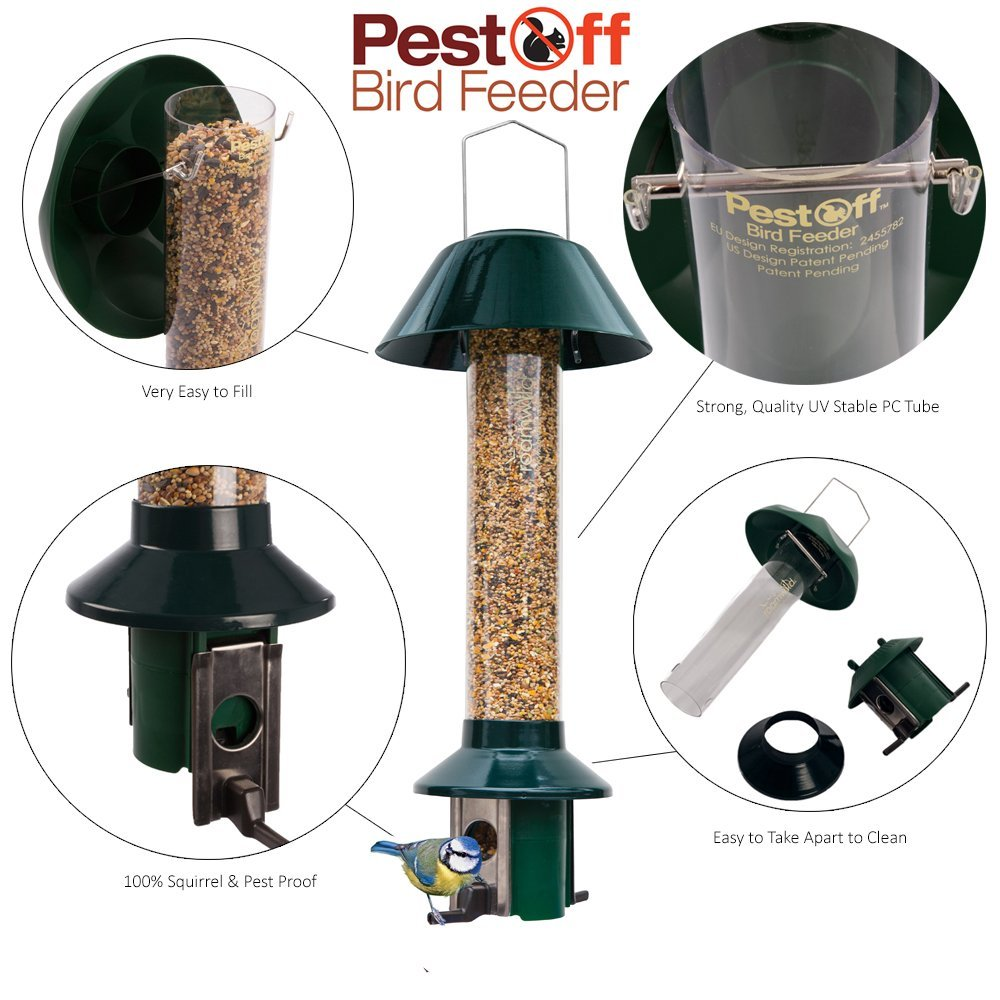 Squirrel Proof Wild Bird Feeder