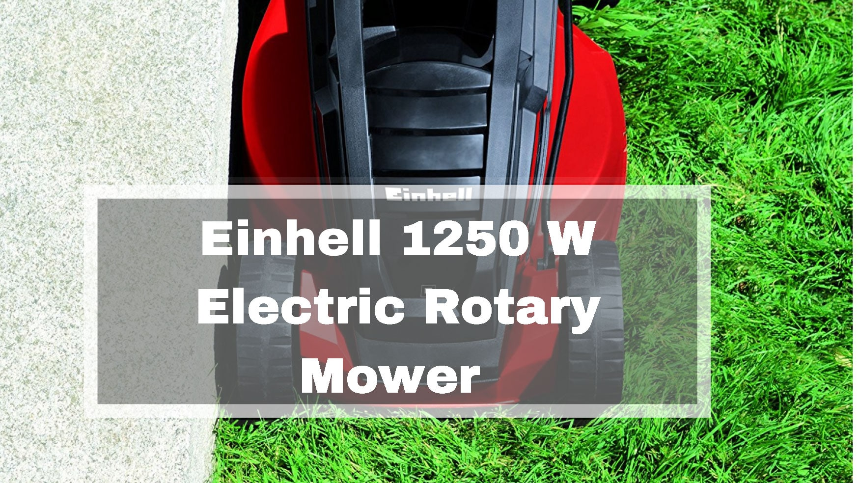 Einhell 1250 W Electric Rotary Mower