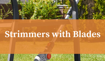 Strimmers with blades not line
