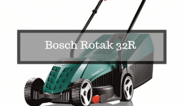 Bosch Rotak 32R mower review