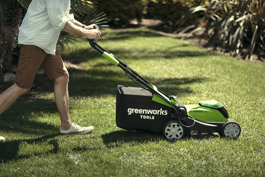 Greenworks mower