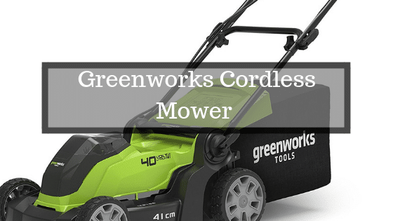 Greenworks 40V Battery mower