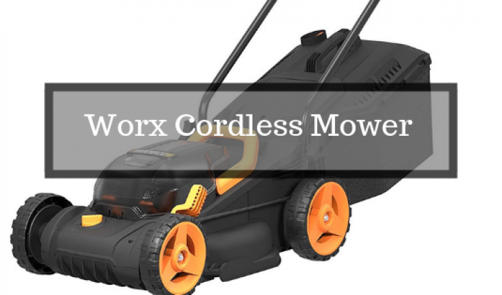 Review of Worx cordless mower