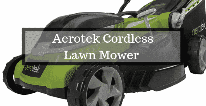 Aerotek Battery Lawn Mower