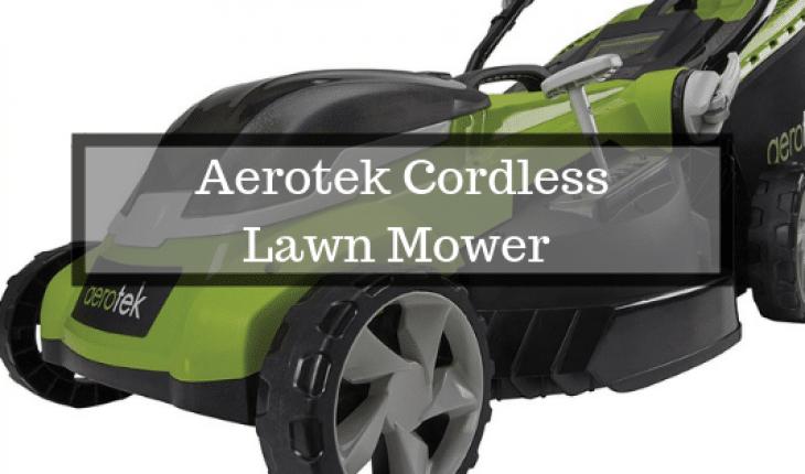 Aerotek Battery Lawn Mower