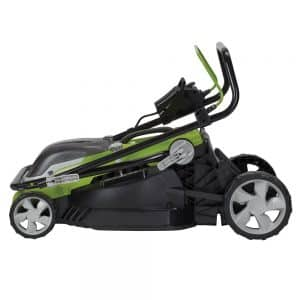 Aerotek lawn mower folding