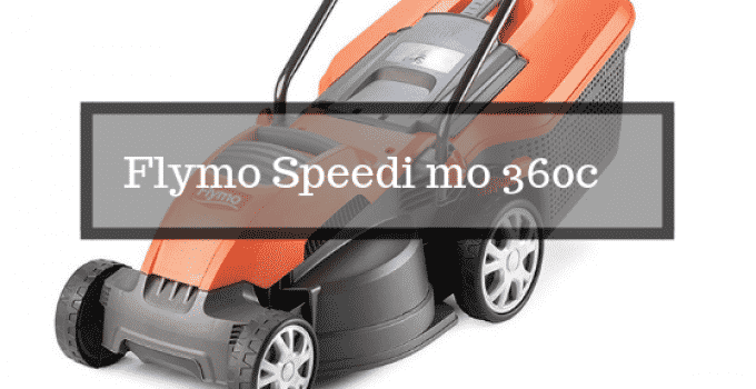 Flymo Speedi mo 360c electric mower