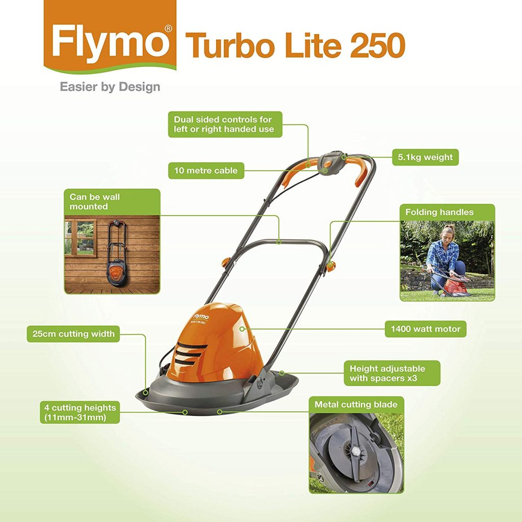 Flymo Turbo Lite 250 Review