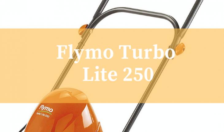 Flymo Turbo Lite 250 hover lawnmower
