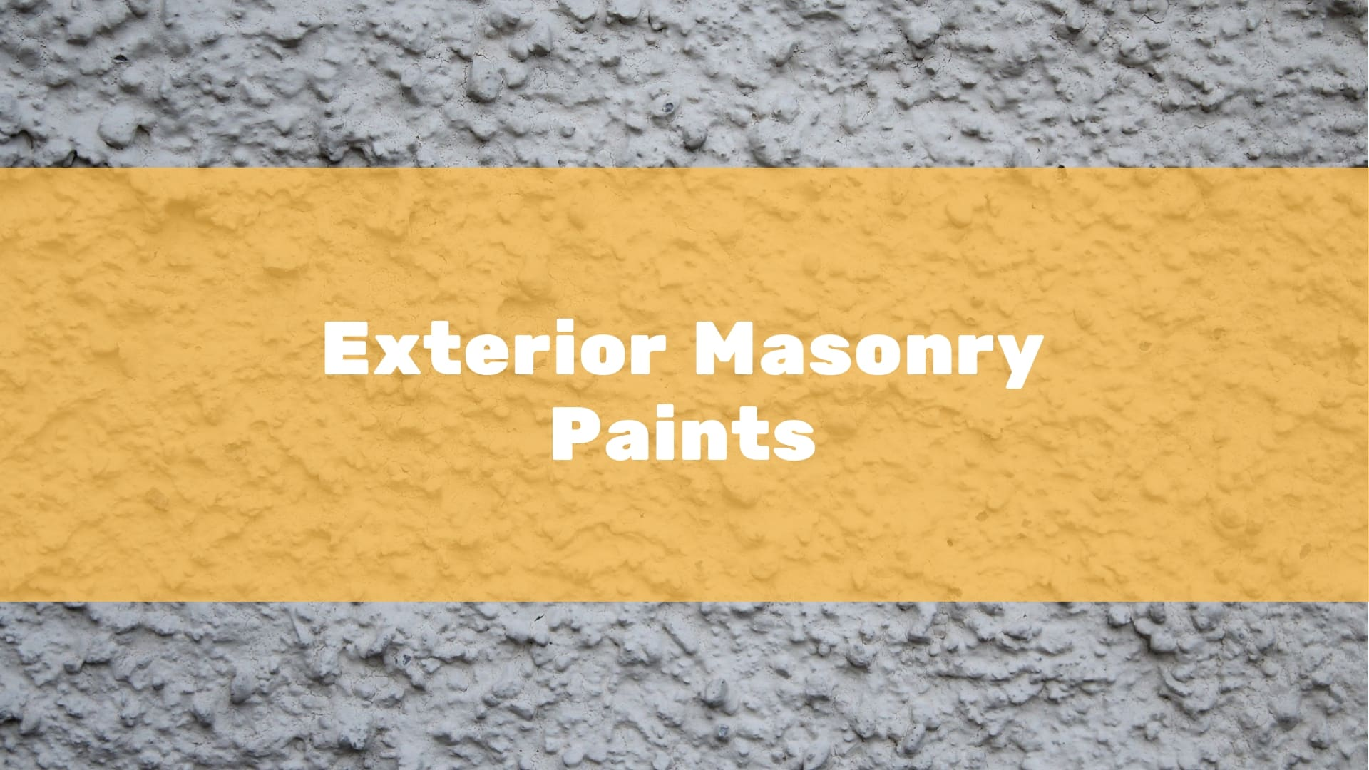 5 Best Exterior Masonry Paints To Buy In 2020 Uk