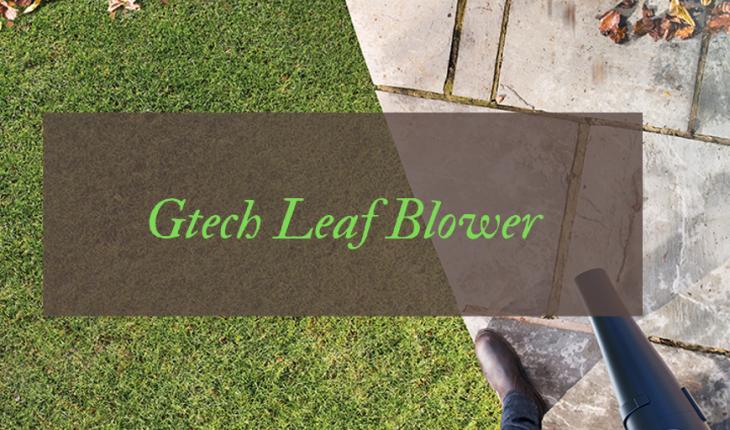 Gtech Cordless Leaf Blower Review