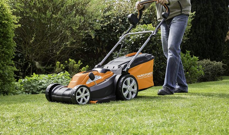 Yard Force cordless lawn mower review