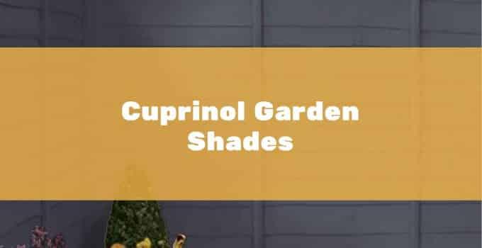 2.5 & 5L Cuprinol Garden Shades